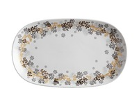 Maxwell & Williams: Yuletide Platter Oblong - Wreath (41x25cm)