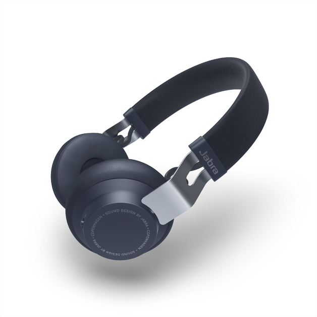 Jabra Move Style Wireless Headphones - Navy Blue