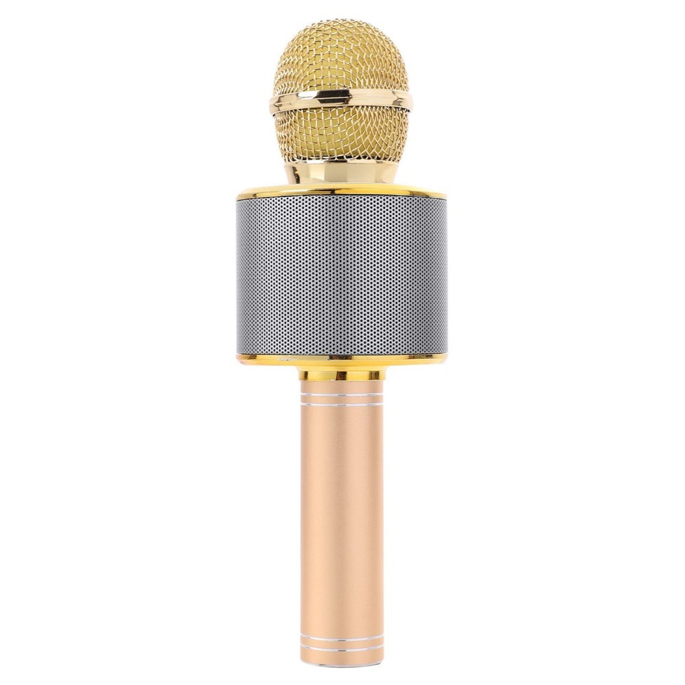 Karaoke Microphone with Bluetooth Speaker image