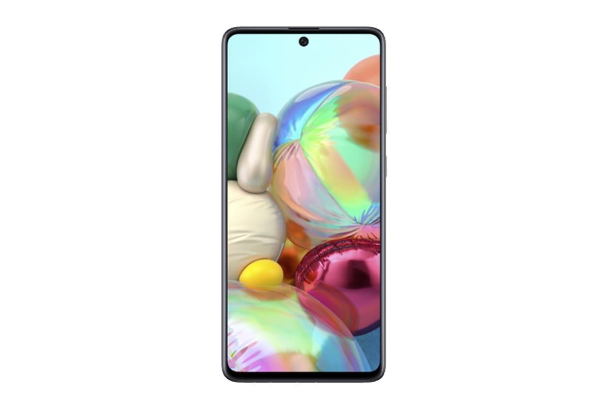 Samsung Galaxy A71 (2020) (128GB/8GB RAM) - Prism Crush Silver image
