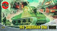 Airfix M4 Sherman Mk1 Tank 1:76 Model Kit