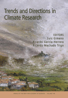 Trends and Directions in Climate Research by Luis Gimeno