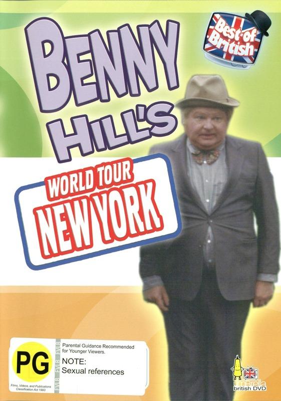 Benny Hill's World Tour - New York on DVD
