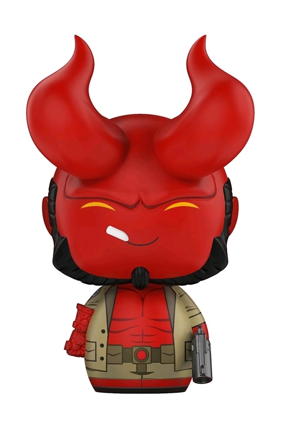 Hellboy with Horns - Dorbz Vinyl Figure image