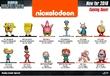 Jada: Nickelodeon - Nano Metalfigs (Blind Bag)