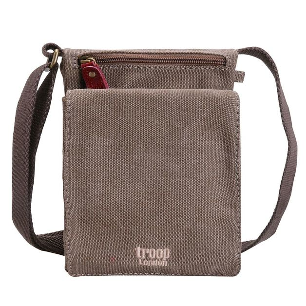 Troop London: Classic Mini Body Bag - Brown