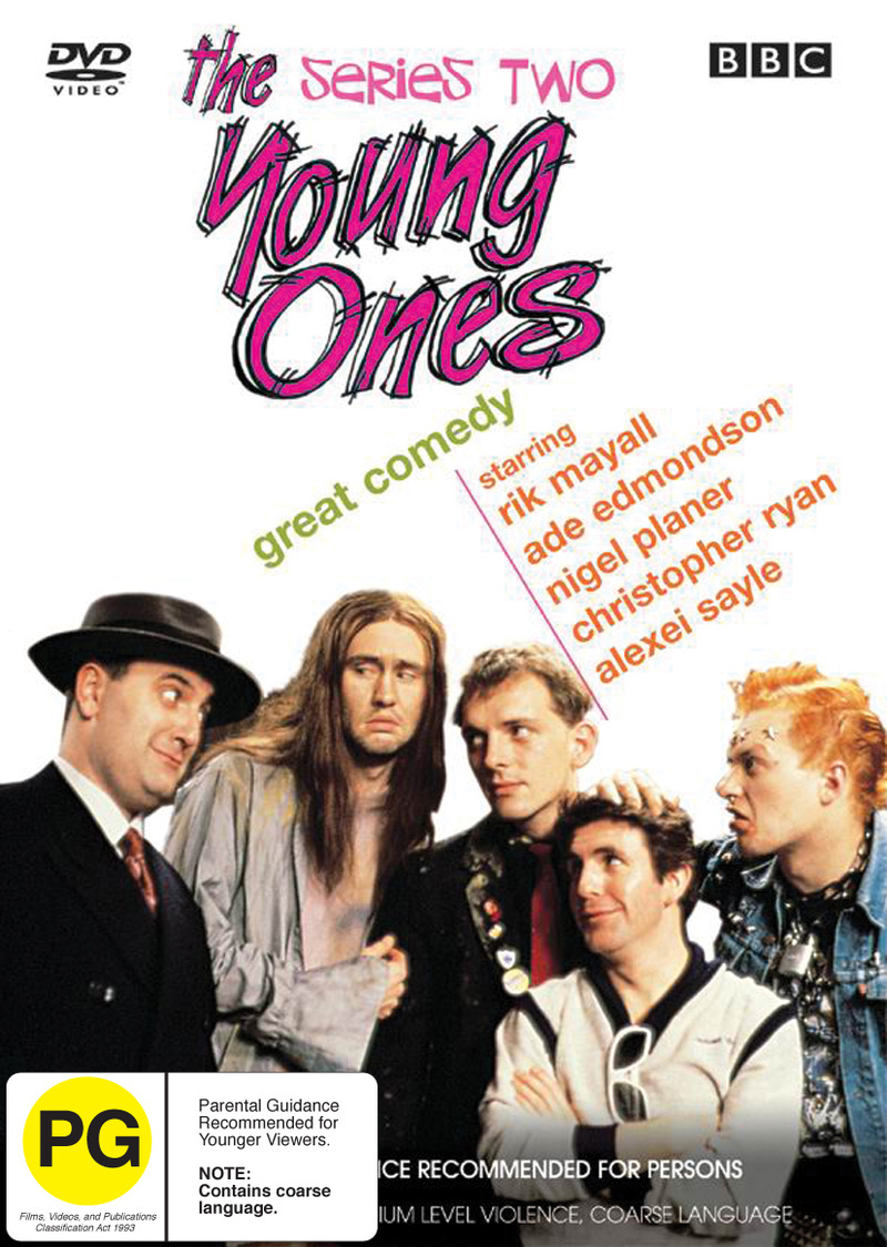 The Young Ones - Series 2 on DVD image