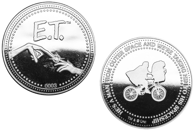E.T.: Collectible Coin - The Extra-Terrestrial (Silver Edition)
