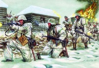 Italeri German Troops Winter (WWII) 1:72 Model Kit