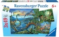 Ravensburger 3x49 Piece Jigsaw Puzzle - Dinosaur Fascination