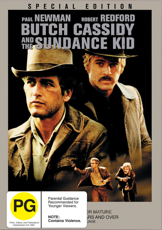 Butch Cassidy & The Sundance Kid on DVD