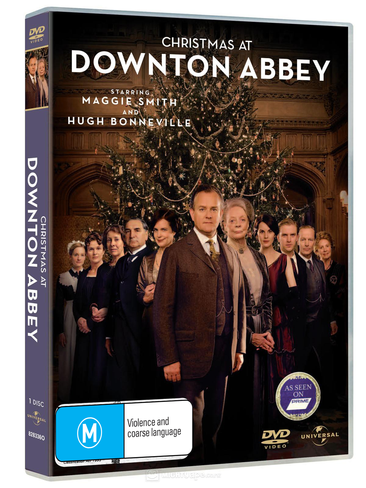 Christmas at Downton Abbey on DVD image