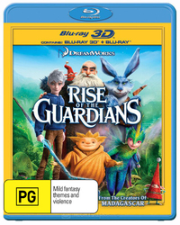 Rise of the Guardians on Blu-ray, 3D Blu-ray