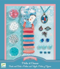 Djeco: Design - Pearls & Birds Beads