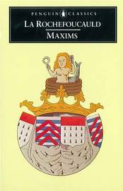 Maxims by Francoi de La Rochefoucauld image