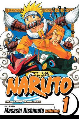Naruto: v. 1: Tests of the Ninja by Masashi Kishimoto