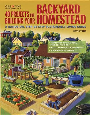 40 Projects for Building Your Backyard H by David Toht image