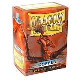 Dragon Shield Copper Card Sleeves