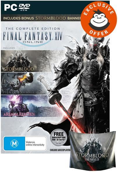 Final Fantasy XIV: Complete Edition + Banner for PC Games