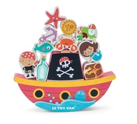 Le Toy Van: Pirate Balance RockNStack