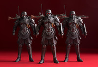 PLAMAX MF-23: 1/20 Minimum Factory Protect Gear - The Red Spectacles Ver.