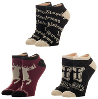 Harry Potter: Advanced Wizardry - Ankle Sock Set (3-Pack)