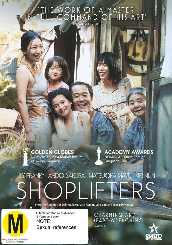 Shoplifters on DVD