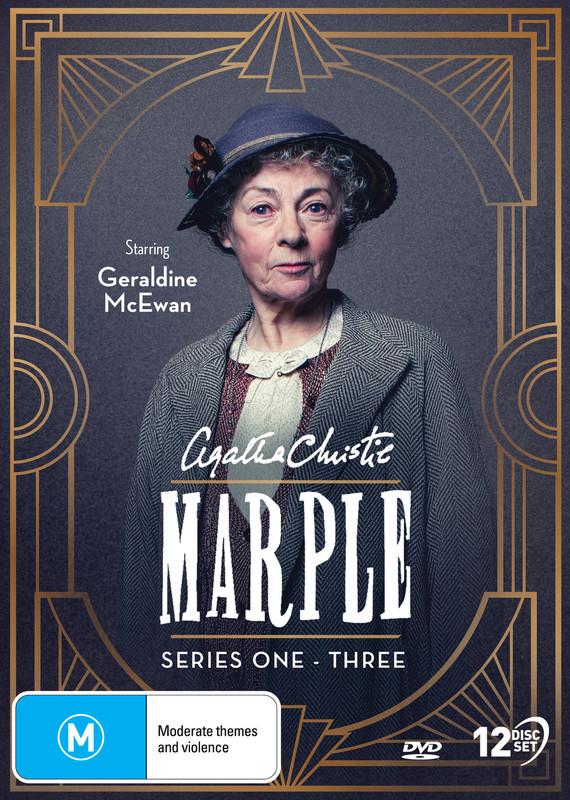 Agatha Christie's: Miss Marple - Series 1-3 on DVD