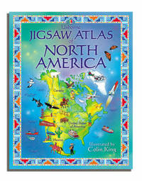 Atlas of North America by Colin King image