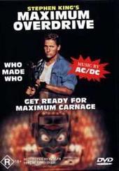 Maximum Overdrive on DVD