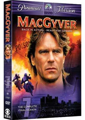 MacGyver - Season 7 - The Final Season (4 Disc Set) on DVD