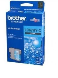 Brother LC67HYC H/Yield Ink Cartridge Cyan