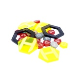 Dreadball Xtreme Acrylic Counters Yellow