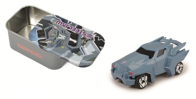 Transformers: Metal Minis Vehicle & Figure Pack (Steel Jaw)