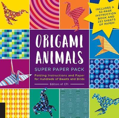 Origami Animals Super Paper Pack by Editors of CPi
