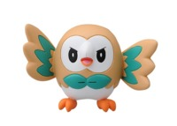 Pokemon: Moncolle EX Rowlet - PVC Figure