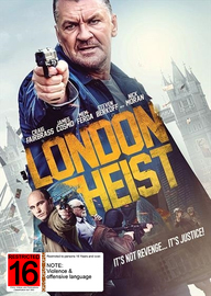 London Heist on DVD