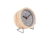 Karlsson Alarm Clock - Innate (Grey)