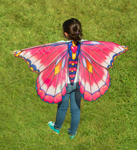 Hearth Song: Fantasy Butterfly Wings - Pink/Blue