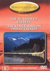 World Class Trains Volume 1 on DVD