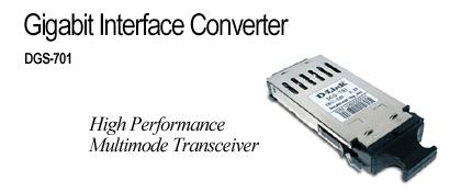 D-Link Gigabit Interface Converter High Performance