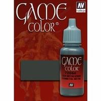 Vallejo Game Colour Gunmetal Grey 17ml