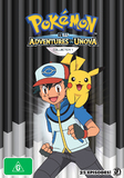 Pokemon Black & White: Adventures in Unova and Beyond - Collection 1 on DVD