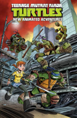 Teenage Mutant Ninja Turtles New Animated Adventures Volume1 by Erik Burnham image