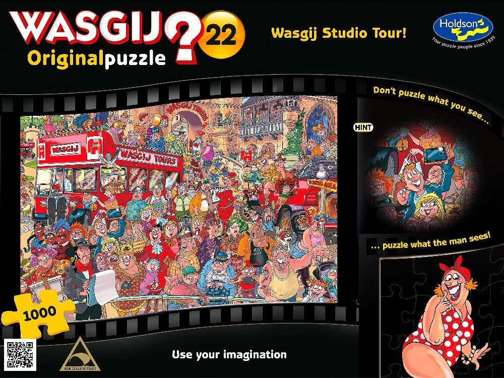 Wasgij 22 Studio Tour 1000pc Puzzle Toy At Mighty