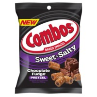 Combos Baked Snacks Chocolate Fudge Pretzel (170g)