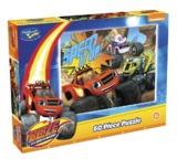Holdson: 60pce Kids Puzzle (Blaze Speed it Up)