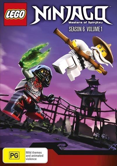 lego ninjago masters of spinjitzu series 6 vol 1 dvd in