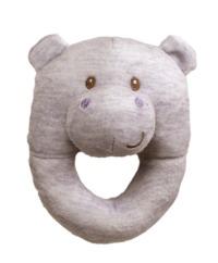 Gund: Playful Pals - Hippo Rattle