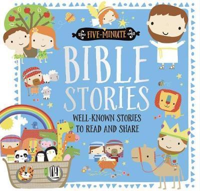 Five-Minute Bible Stories by Make Believe Ideas, Ltd. image